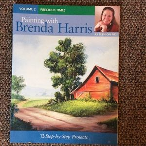 Book, Painting With Brenda Harris (13 projects)
